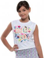 Koszulka dziewczęca Lucky in Love Novelty Print Sun Chaser Tank Girls - multi