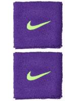 Frotka tenisowa Nike Swoosh Wristbands - court purple/volt