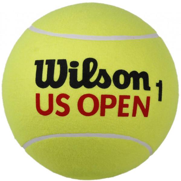 Autogrāfu bumbiņas Piłka Gigant Wilson Us Open Jumbo - yellow