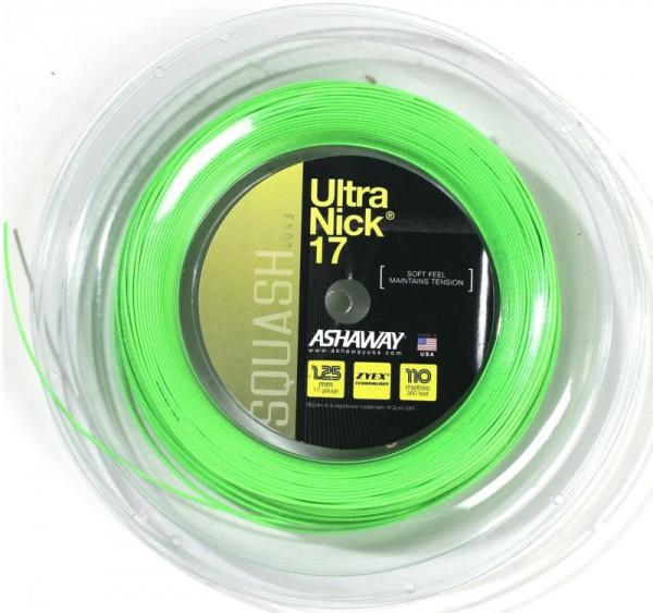 Skvošo stygos Ashaway UltraNick 17 (110 m) - green
