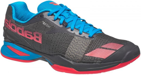 Vīriešiem tenisa apavi Babolat Jet Clay M - grey/red/blue