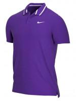 Nike Court Dri-Fit Victory Polo PQ M - court purple/white