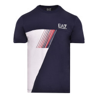 Męski T-Shirt EA7 Man Jersey T-Shirt - navy blue