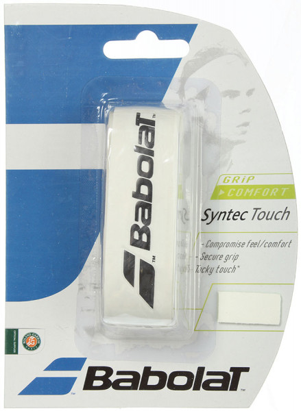 Owijka Tenisowa Babolat Syntec Touch (1 szt.) - white