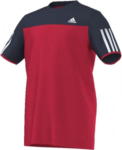 T-krekls zēniem Adidas Club Tee - ray red/collegiate navy