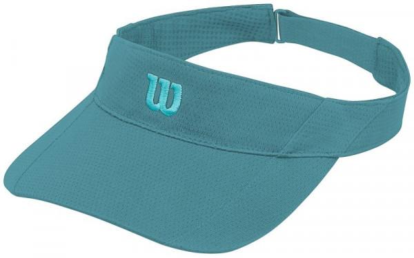 Tennise visiir Wilson Rush Knit Visor Ultralight - bluebird/blue curacao