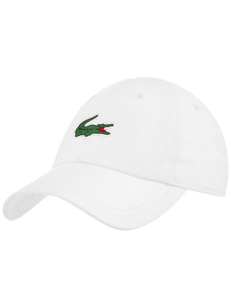 Teniso kepurė Lacoste SPORT NOVAK DJOKOVIC-ON COURT COLLECTION Microfiber Cap - white/white