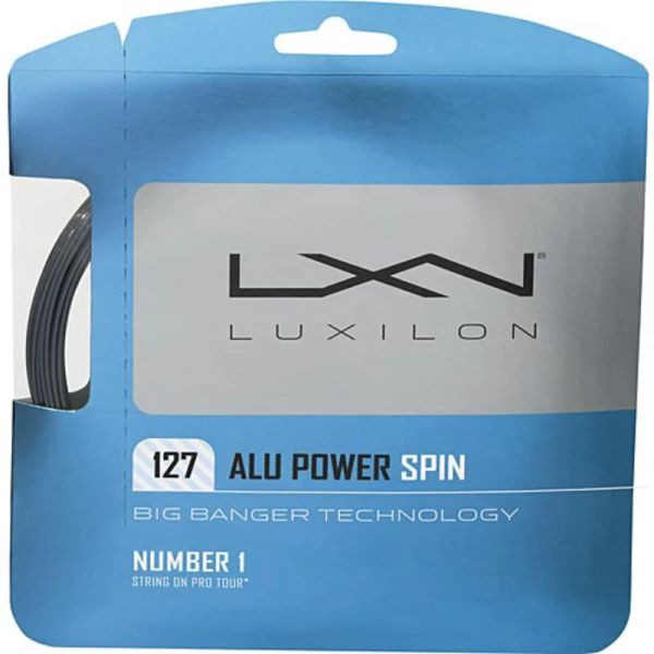 Tenisa stīgas Luxilon Big Banger Alu Power Spin 127 (12.2 m)