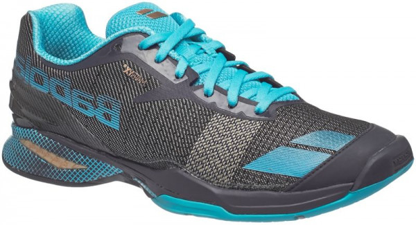 Damskie buty tenisowe Babolat Jet All Court Woman - grey/blue