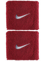 Tennise randmepael Nike Swoosh Wristbands - red crush/wolf grey