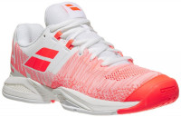 Ženske tenisice Babolat Propulse Blast All Court Women - white/fluo strike
