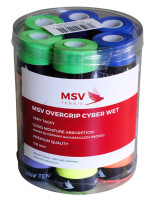 MSV Cyber Wet Overgrip (24 vnt.) - muticolor