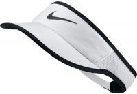 Daszek tenisowy Nike Aerobill Feather Light Visor - white/black