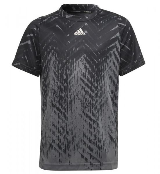 Poiste maika Adidas B FL Printed T - black