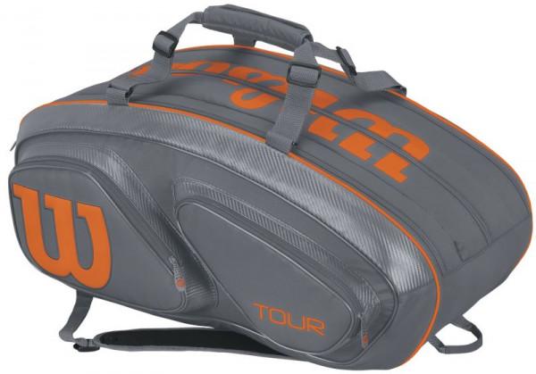 Wilson Tour V 15 Pk - grey/orange