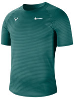 Męski T-Shirt Nike Court Rafa Aeroreact Top SS Slam - dark atomic teal/white