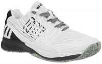 Męskie buty tenisowe Wilson Kaos 2.0 Clay Court - white/black/safety yellow