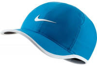 Czapka tenisowa Nike Dry Youth Featherlight Cap - laser blue