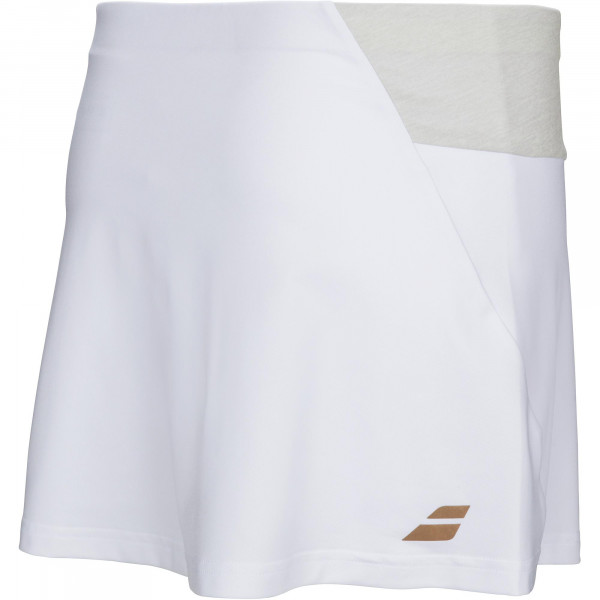 Tenisa svārki meitenēm Babolat Performance Skirt Girl - white