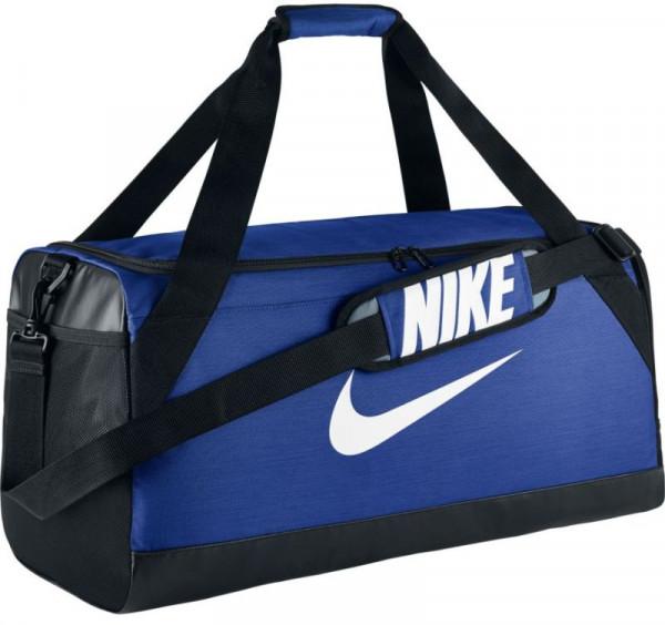 Tenisa soma Nike Brasilia Medium Duffel - game royal/black/white