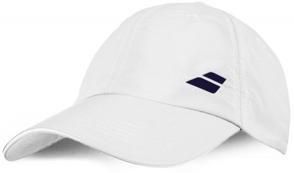 Babolat Basic Logo Cap Junior - white/white