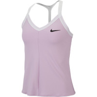 Damski top tenisowy Nike Court Tank Maria W - lilac mist/white/black