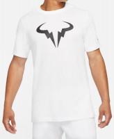 Męski T-Shirt Nike Court Dri-Fit Tee Rafa M - white/black