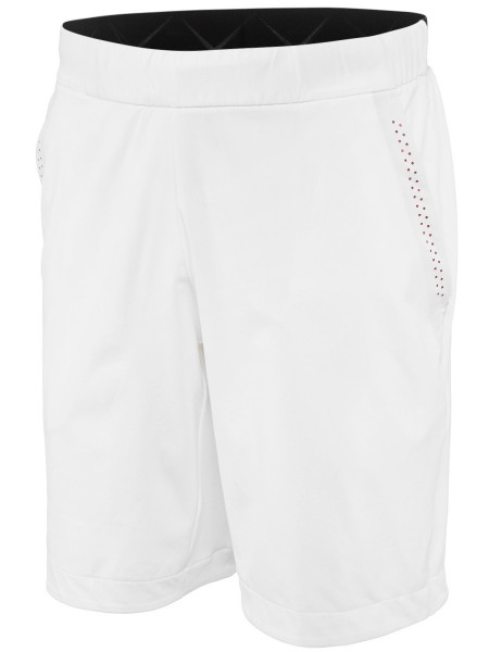 Męskie spodenki tenisowe Adidas Barricade Bermuda - white