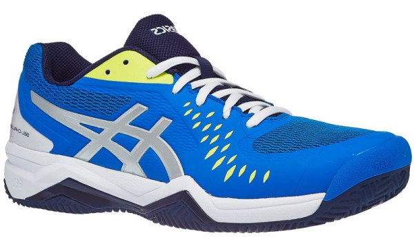 1a743775 Męskie buty tenisowe Asics Gel-Challenger 12 Clay - electric blue/silver