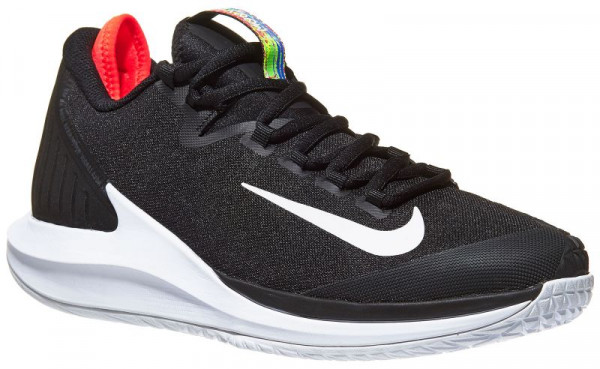 Nike Court Air Zoom Zero - black/white/bright crimson