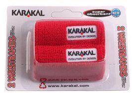 Znojnik za ruku Karakal Wristbands - red