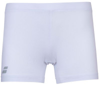 Spodenki dziewczęce Babolat Compete Shorty Girl - white/white