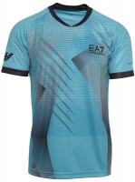 EA7 Man Jersey T-Shirt - blue caracao