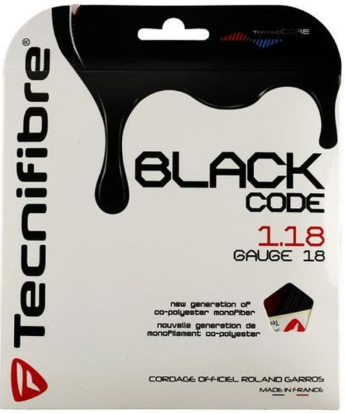 Teniso stygos Tecnifibre Black Code (12 m)