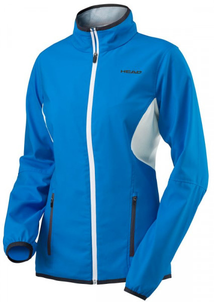 Tenisa džemperis sievietēm Head Club Jacket W - blue
