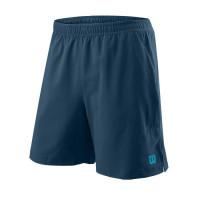 Męskie spodenki tenisowe Wilson M Power Twin 7 Short - majolica blue