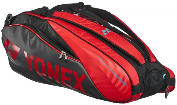 Yonex Pro Racquet Bag 9 Pack Ltd - black/red