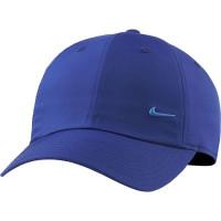 Nike H86 Metal Swoosh Cap - deep royal blue/metallic silver