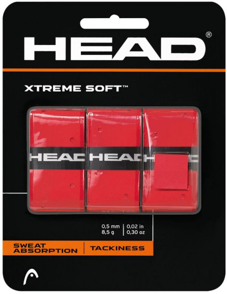 Overgrip Head Xtremesoft (3 szt.) - red