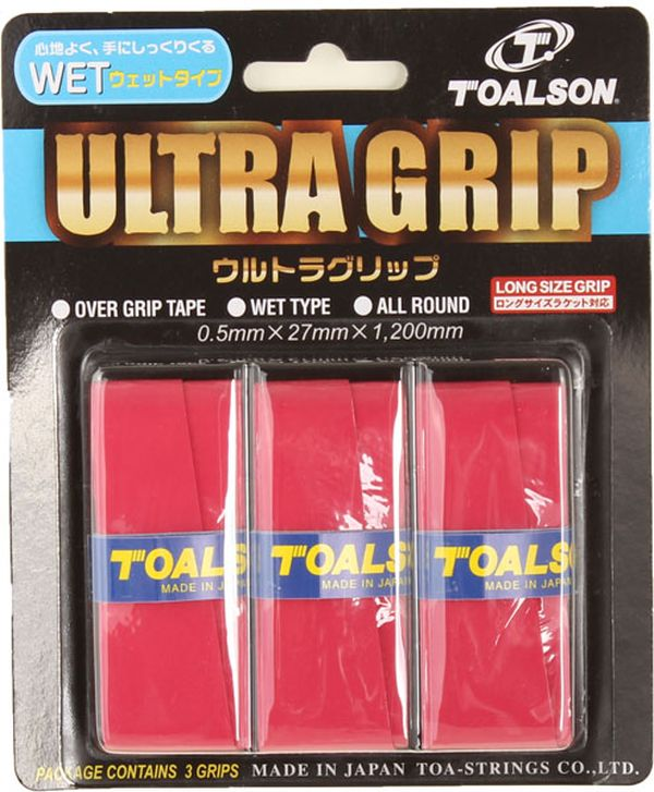 Toalson UltraGrip (3 szt.) - red
