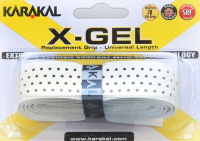 Karakal X-Gel Grip (1 szt.) - white