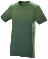 Męski T-Shirt Wilson M F2 Seamless Crew - vineyard green/jungle green