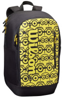 Teniso kuprinė Wilson Minions Tour Backpack - black/yellow