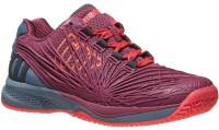 Damskie buty tenisowe Wilson Kaos 2.0 W - plum/flint stone/neon red