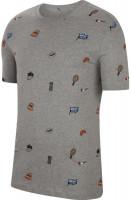 Męski T-Shirt Nike Court Tee Roland Garros - dark grey heather