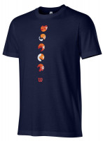 T-krekls zēniem Wilson Tokyo Tech Tee Y - maritime blue