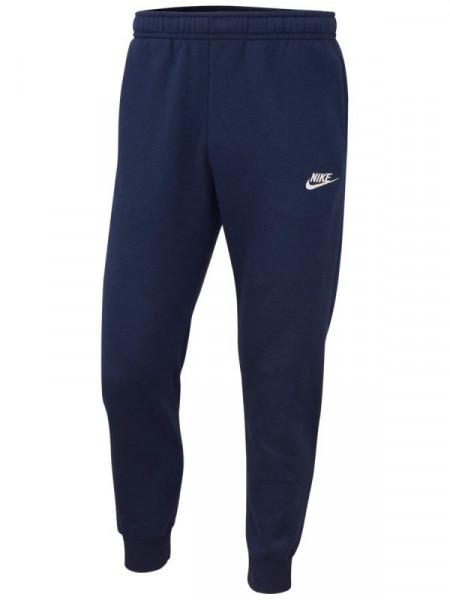Tenisa bikses vīriešiem Nike Sportswear Club Pant M - midnight navy/midnight navy/white