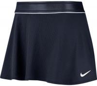 Damska spódniczka tenisowa Nike Court Dry Flounce Skirt - obsidian/white/white
