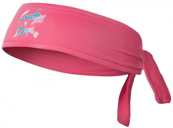 Teniso bandana Lucky in Love Headband - punch