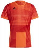 T-krekls vīriešiem Adidas Freelift Tokyo T-Shirt Primeblue HEAT.RDY M - app solar red/black